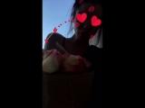 Цветные розы с Анастасией