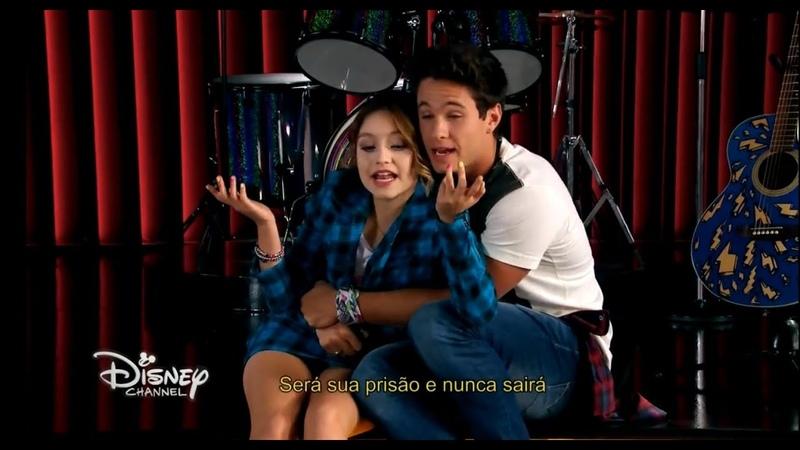 Sou Luna 3 - Luna e Simón Cantam Tu Carcel e Âmbar os vê (Momento Musical)