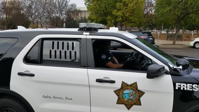 Fresnos corrupt cops do the walk of shame part 2 TCCW 1st amendment audit