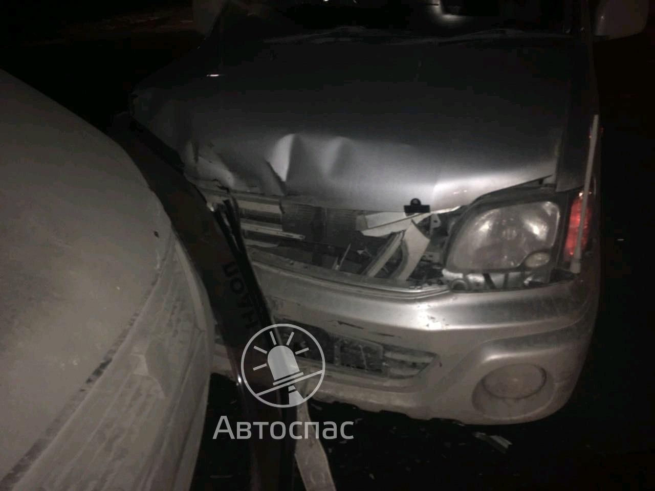 В Новосибирске «ГАЗель» протаранила иномарку