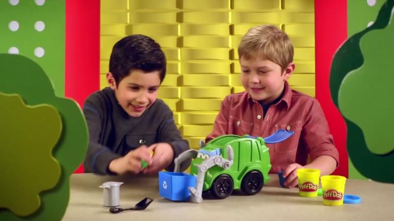 Игровой набор Play Doh Мусоровоз Реклама для детей 2013