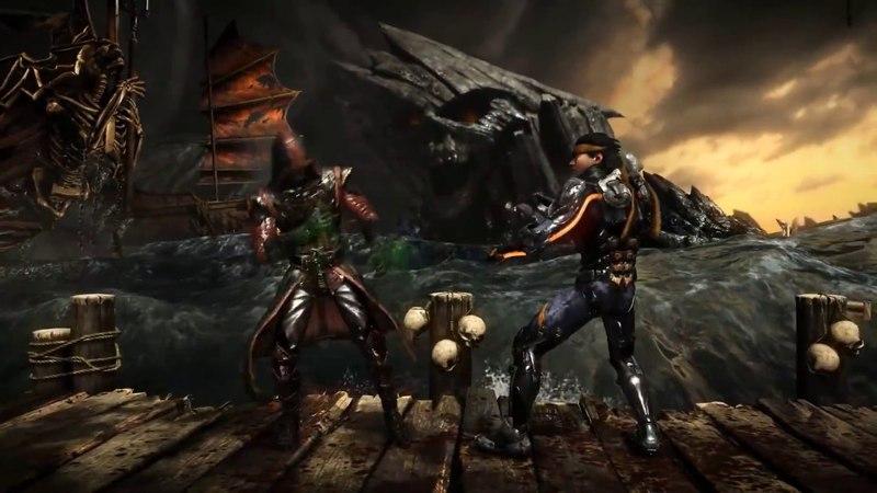 Вырезка из прохождения игры Смертельная битва X by TheBrainDit