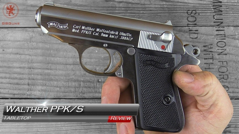 The NEW Walther PPKS Tabletop Review and Field Strip