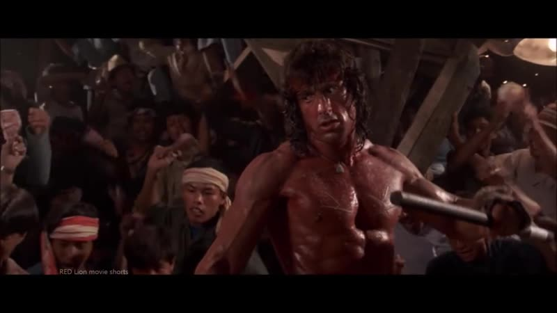 Rambo 3 (1988) - Stick Fight Scene (1080p) FULL HD