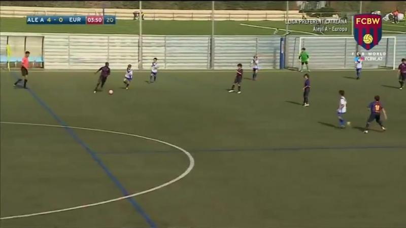 Алевин А 19:0 Европа (7 из 8 голов, забитых в первом тайме)