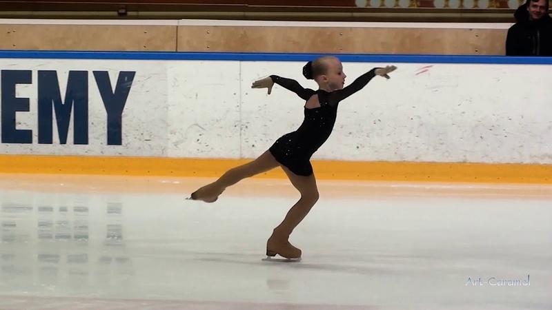 Юлия Азарёнок Звёздный Лёд 20190408 Ice Burevestnik G 1U 2010