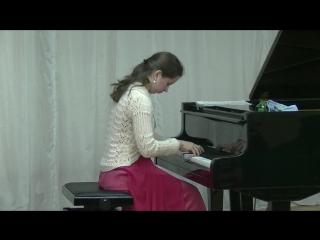 Татьяна Ерофеева (скрипка) и Анна Ерофеева (фортепиано).Кондопога 4 июня 2018.4