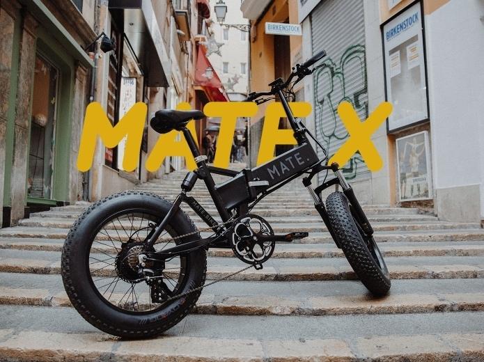 Складываемый электробайк MATE X