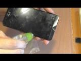 [Remonter] ЭЛЕМЕНТАРНОЕ. Замена разбитого дисплейного модуля смартфона Asus ZC500TG