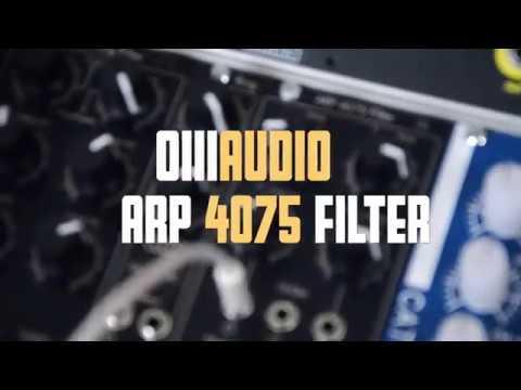 OIIIAudio ARP 4075 Filter demo