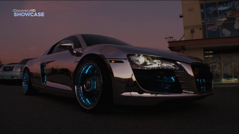 Ауди Р8 Трон от Вест Кост Кастомс | West Coast Customs Tron Audi R8