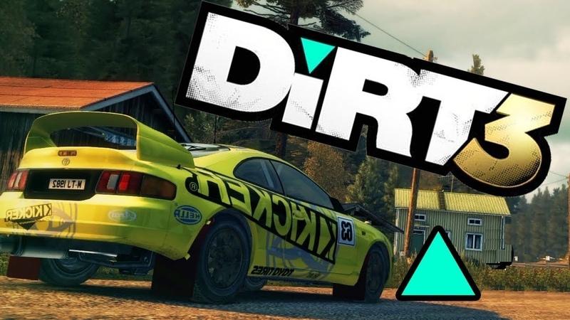 DiRT 3 GamePlay - Toyota Celica GT-Four - Finland ✅ ⭐ 🎧 🎮
