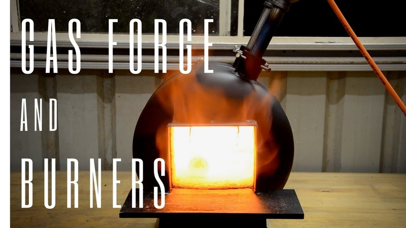 Building a Blacksmithing Gas Bottle Propane Forge Burners
