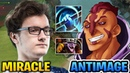 MIRACLE TIMBERSAW vs ANTI-MAGE MAGNUS EMPOWER IS STILL OP