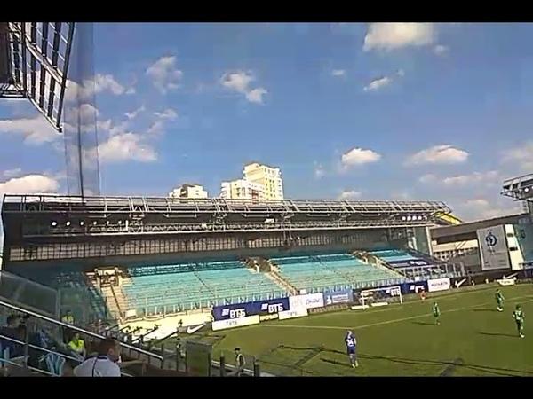 Динамо Москва - Анжи Махачкала 22.09.18, вид с кромки поля