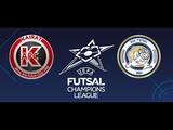 Лига Чемпионов. Группа А. Acqua&ampSapone 1-4 Kairat Almaty