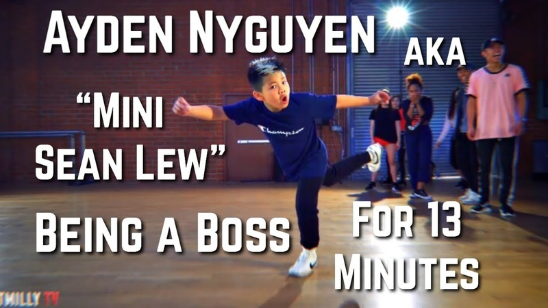 Ayden Mini Sean Lew Nguyen Being A Boss For 13 Minutes Straight