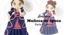 Amigurumi muñeca de época, parte 4/5 patrón gratis