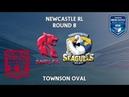 2018 Newcastle RL 1st Grade Round 8 South Newcastle Lions v Lakes United Seagulls