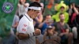 Nick Kyrgios vs Kei Nishikori 3R Highlights Wimbledon 2018