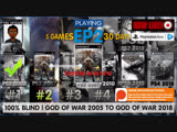 God of War II HD EP2 5 #GodofWar games 26 days left 100 Blind