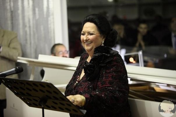 Легендарная оперная певица Монсеррат Кабалье умерла в Испании