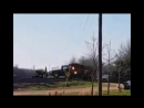 Farm tractor Vs. BNSF locomotive
