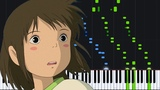 One Summer's Day (Inochi no Namae) - Spirited Away Piano Tutorial (Synthesia) Yeh-Kun
