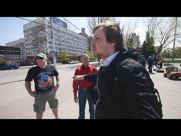 In The Center of Donetsk, DPR (May, 2018). Vlog.