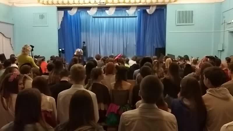 Дефиле 8,9,10,11 классы) Русские сезоны