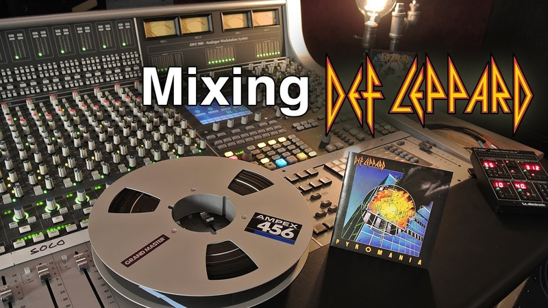 Mixing Def Leppard's Photograph on an Analog SSL Console - GoPro POV