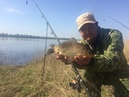 20 Ловля Карася на Донку с Кормушкой Рыбалка с Берега на Большой Реке Голавль
