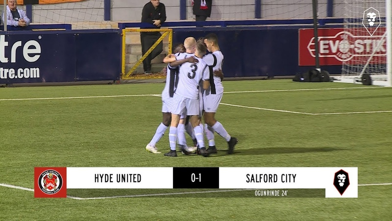 Hyde United 0-1 Salford City | FA Youth Cup 3rd Qualifying Round