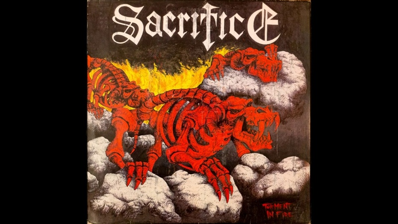 Sacrifice - Torment in Fire (1986) (LP, Holland) [HQ]