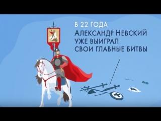 Минутная история. Александр Невский - покровитель дипломатов.