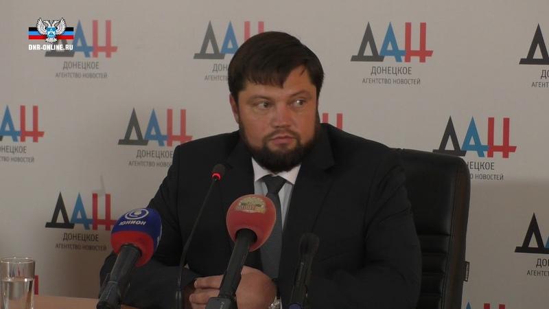 Кандидат на пост Главы ДНР Роман Храменков озвучил предвыборную программу