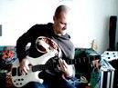 Виртуозная игра на бас гитаре