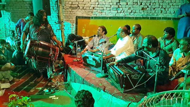 First Time in Qawwali History Amazing Nobat With Dhool By Shahid Ali Nusrat Qawwal