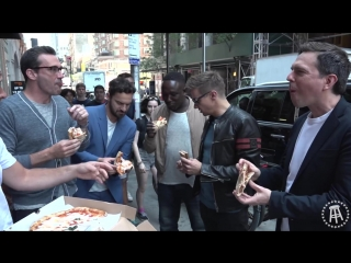Barstool Pizza Review - Don Antonio w/ Jon Hamm, Ed Helms, Jeremy Renner, Jake Johnson  Hannibal Buress