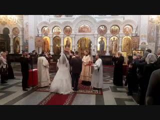 Венчание Ильи и Ангелины.