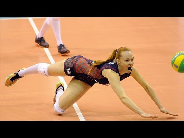 Top 15 Womens Volleyball CRAZY Action | Rally Digs Saves