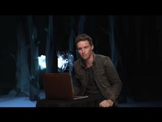 Watch Fantastic Beasts actor Eddie Redmayne discover his Patronus