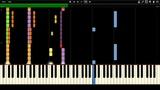 Rammstein - Benzin Instrumental Piano Tutorial