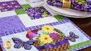 Easy Pieced Table Runner Series - May   a Shabby Fabrics Tutorial