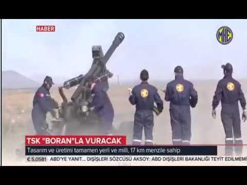 TSK BORAN La vuracak , Operasyon bölgesine havadan taşınabilen silah sistemi harika iyihabertv Live