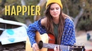 Marshmello ft Bastille Happier Tiffany Alvord Cover