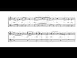 Херувимская песнь. Древнего распева (из рукописных нот)