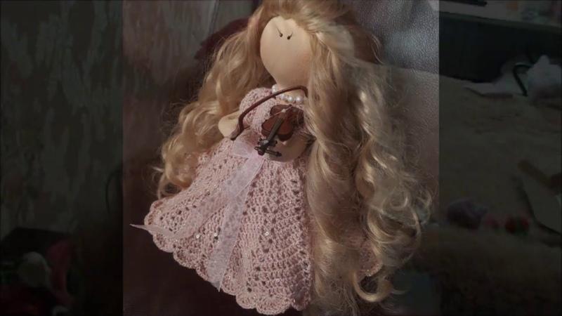 Моя новая кукляшка- скрипачка!