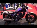 2018 Honda Rebel 300 - Walkaround - 2018 Toronto Motorcycle Show