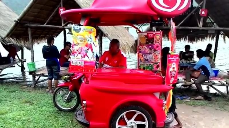 Мороженщики в Таиланде